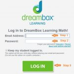Dreambox Student login step 2