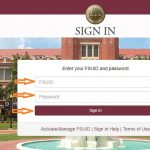 FSU Student login step 1