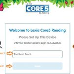 Lexia Core 5 Student login step 2