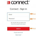 Mcgraw Hill Connect Student login step 1