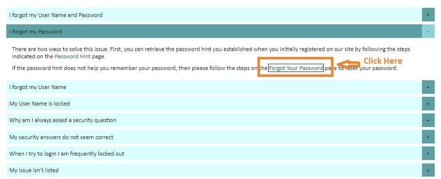 Mohela Student login forgot password step 3