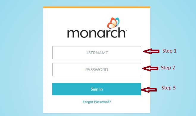 Monarch Student login