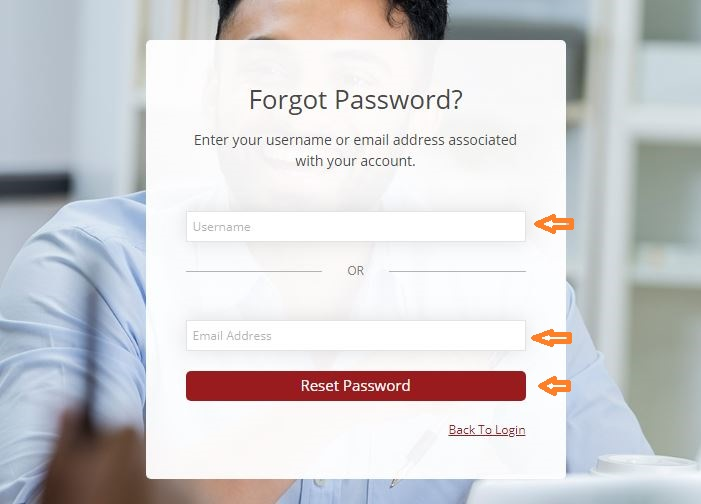 Xcel Testing Solutions Student login forgot password step 2