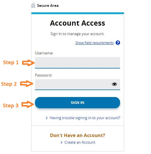 aes student loans login step 2