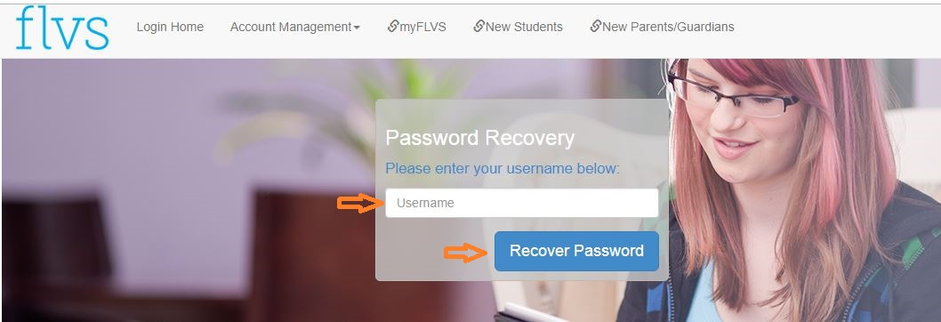 flvs Student login forgot password step 2