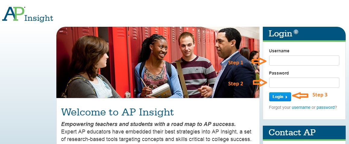 AP Insight Student Login