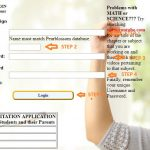 Pearblossom Private School Student Login Step 2
